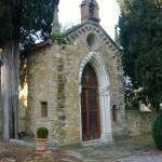 La cappella nel giardino