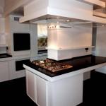 La cucina del piano terra