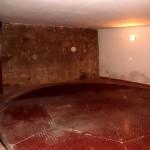 il pavimento girevole del garage